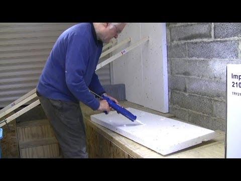 Garage Workshop Conversion (2) - insulation