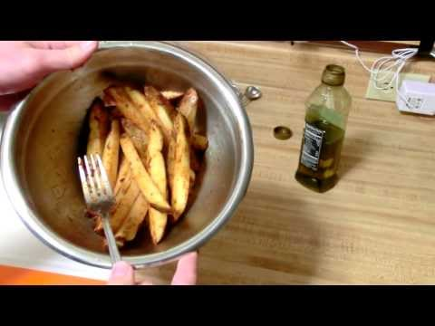 Homemade, Hand Cut Oven Baked Fries Recipe