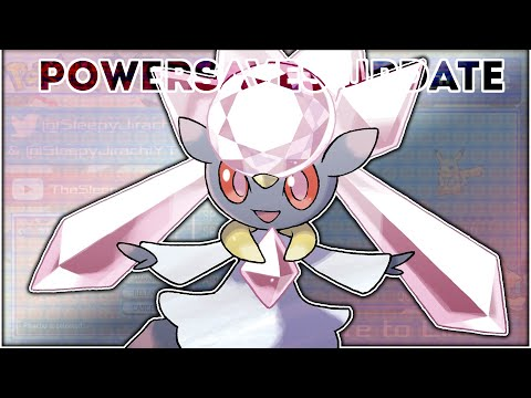 Official Diancie Event - PowerSaves Update