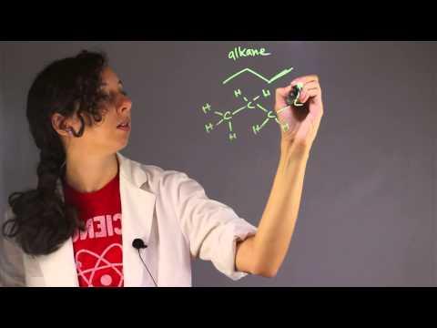 The Molecular Formula for an Alkane Molecule : Chemistry Help