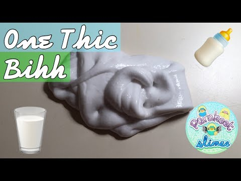 HOW TO MAKE CEREAL MILK SLIME BY @PARAKEETSLIMES!! SUPER GLOSSY THICK SLIME (LIKE THAILAND SLIME)