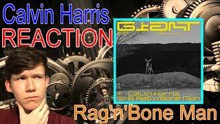 Calvin Harris Ragnbone Man  Giant Reaction