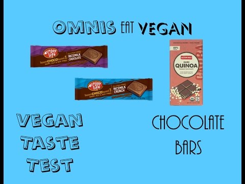 Vegan Taste Test - Chocolate Bars