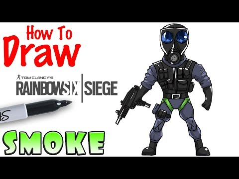 How to Draw Smoke | Rainbow 6 Siege