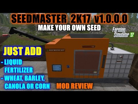 Farming Simulator 17 - Seedmaster 2K17