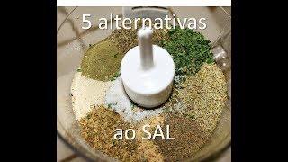As minhas 5 alternativas ao Sal comum iodado