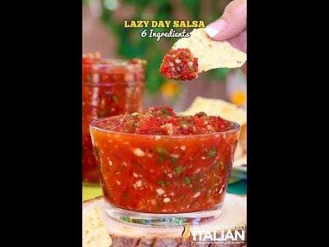 Low Fat Vegan No Oil Kid Friendly Restaurant Style Homemade Salsa