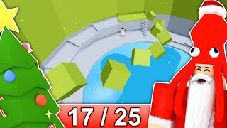 [17/25] CHRISTMAS STAGES in Tower of Hell... | Roblox