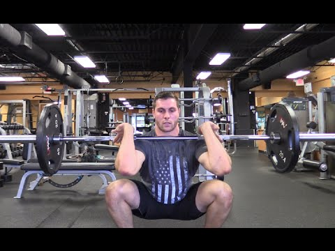 Barbell Complex Workout - Row, Clean, Press & Squat [Olympic Lifting]