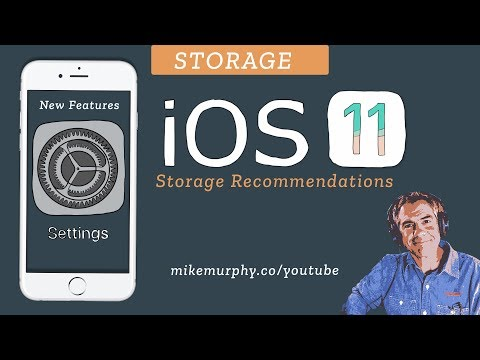 iOS11: Manage Storage & Free Up Space