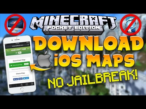 How to INSTALL MAPS/ADDONS on iOS! | No Jailbreak | No Computer | MCPE 1.1.X