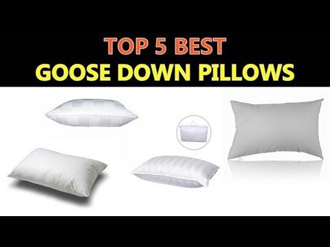 Best Goose Down Pillows 2018