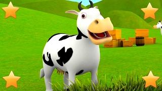 The Farmer in the Dell | Kindergarten Nursery Rhymes & Songs for Kids | Little Treehouse S03E62
