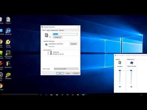 Improve your Laptop/desktop Volume in Windows 7/Windows 10