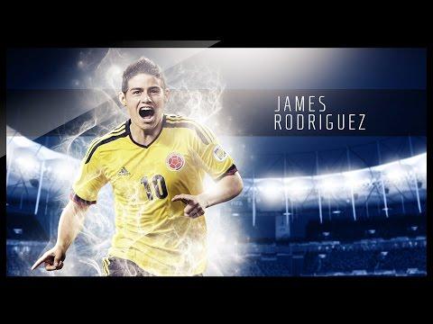 Photoshop Graphic Design - Football Wallpaper - James Rodriguez Wallpaper