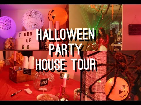 Halloween Party House Tour | viviannnv