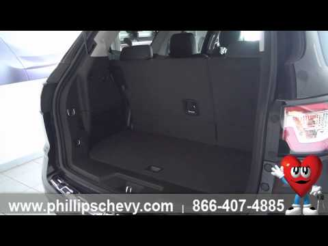 How to Change a Spare Tire on a Chevy Traverse - Phillips Chevrolet - Chicago New Car Dealership