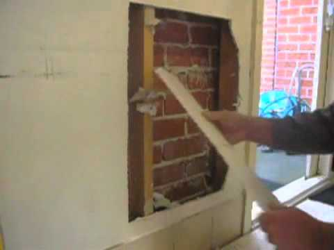 Large Plaster Hole to Wall Repair Tip Part One