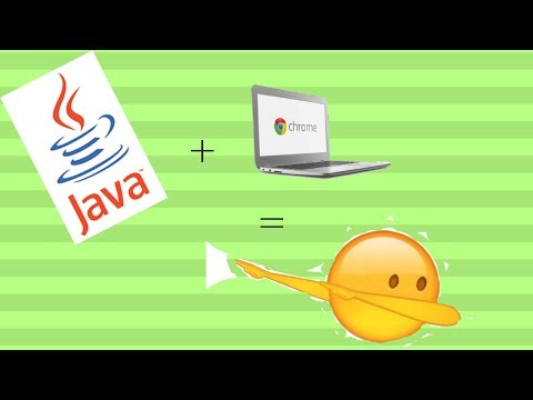 How to install Java onto a chromebook
