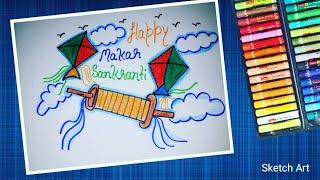 5 47 Sankranti Festival Drawing Video Playkindle Org