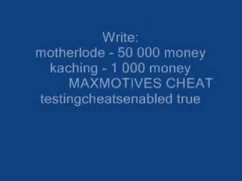 SIMS 3 CHEATS FOR PC (MAXMOTIVES CHEAT)