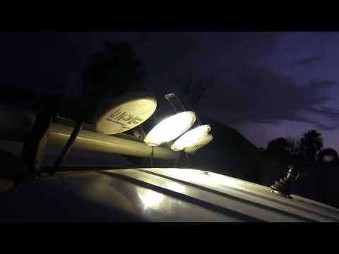 12v rotating light bar