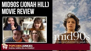 Download Mid90s (Jonah Hill) - Nadia Sawalha & The Popcorn Junkies Family Movie Review (SOME SPOILERS) Video