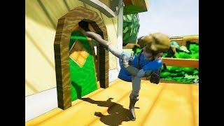 (sfm) Link Raids Mario