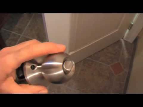 How to Replace a Door Lockset / Doorknob