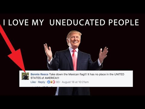 This video will how STUPID Trump Supporters are! and they are not trolling