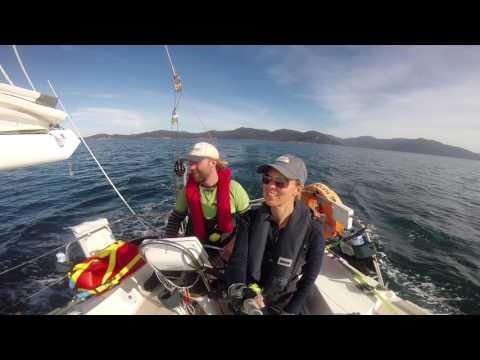 Sailing Time Flies 02 -  Leaving Melbourrne