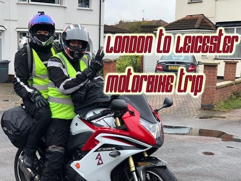 Motorbike Trip London to Leicester