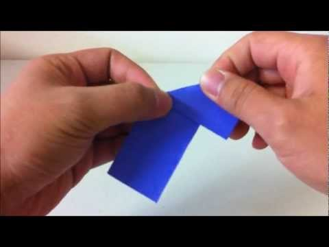 how to make origami paper triangle