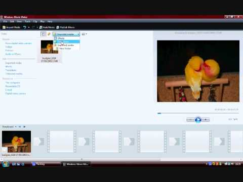 How to make a Youtube video in the -NEW- Windows Movie Maker