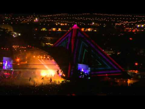 Coldplay perform Every Teardrop is a Waterfall live at Glastonbury 2011