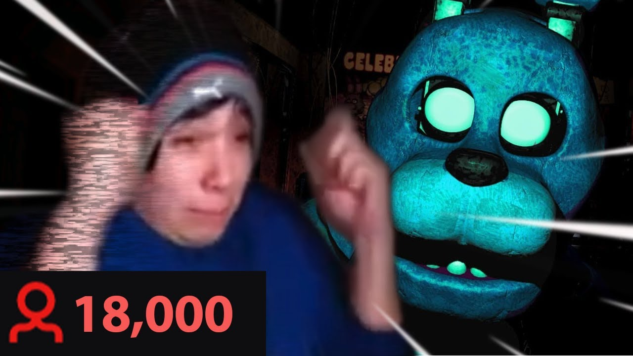 FNAF Help Wanted but 18,000 viewers ruin it