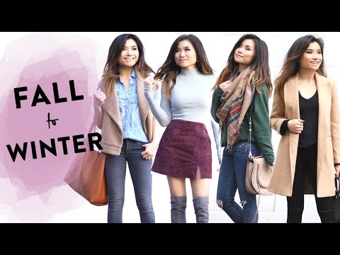 Fall to Winter Lookbook | 2016 Fall to Winter Outfit Ideas | Transitional Fashion | Miss Louie