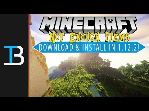 How To Download & Install Not Enough Items in Minecraft 1.12.2