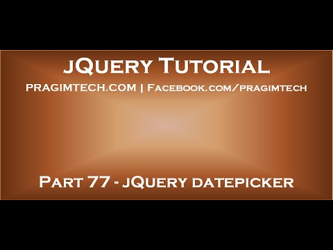 jQuery datepicker in asp net