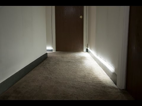 Customizable Motion-Activated Floor Runner Lights by Fabricate.IO