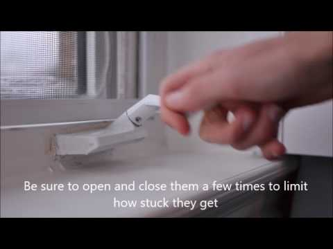 Casement Windows Stuck Shut