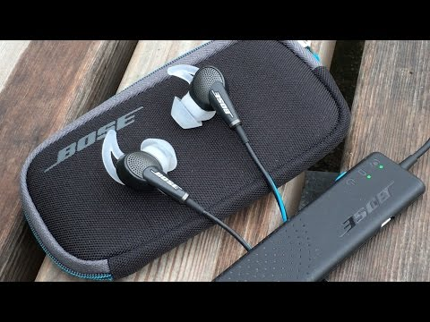 BEST Noise Cancelling Earbuds | Bose CQ20/CQ20i Earbuds Review