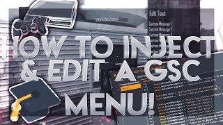 [CFW PS3] How to get a Modmenu BO2 GSC/ Edit Jiggy menu Custom message! + Download (Voice Tutorial)