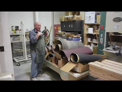 DIY Woodshop Project - Best Sanding Belt Storage Rack