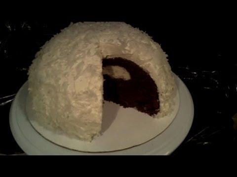 How to Make a Snowball Cake Retro Recipe