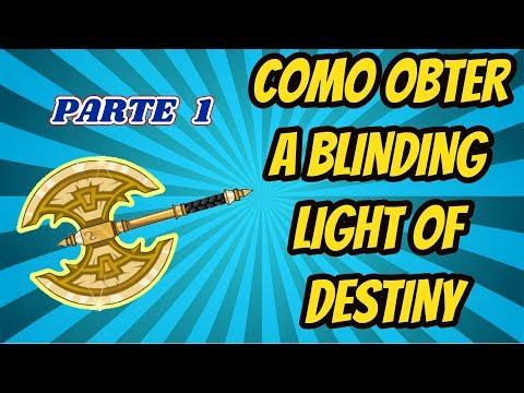 [AQW] Como Obter a Blinding Light of Destiny - Parte 1 (Bem detalhado)