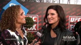 """Haywire"" Star Gina Carano on Making Movies, Pregnancy Rumors + Returning To MMA"