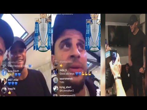 🔴LIVE  Manchester City players celebrate Premier League 🏆 win in local pub 🎤 Champions 2018🍾 🏆 🎉🍹