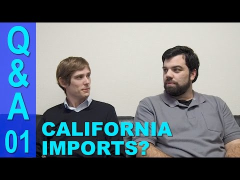 Japan Car Importing Q&A #1 - Can You Import to California?