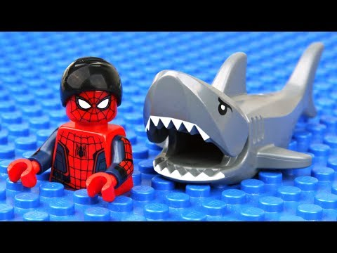 Lego Spider-Man Shark Attack